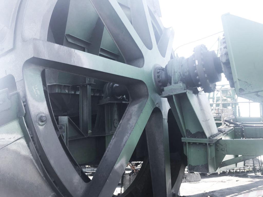 Khuthele repair bucket wheel shaft