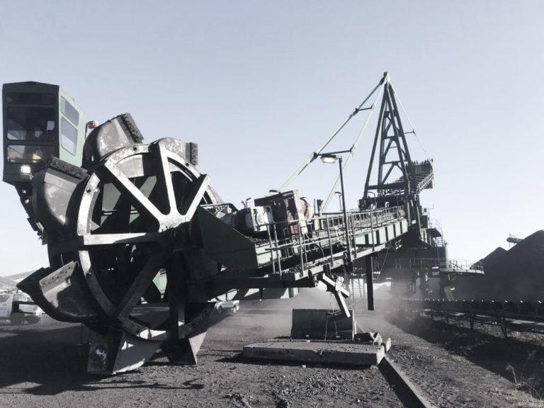 repair bucket wheel shaft assembly